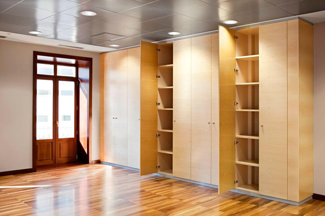 armarios muebles a medida para oficina