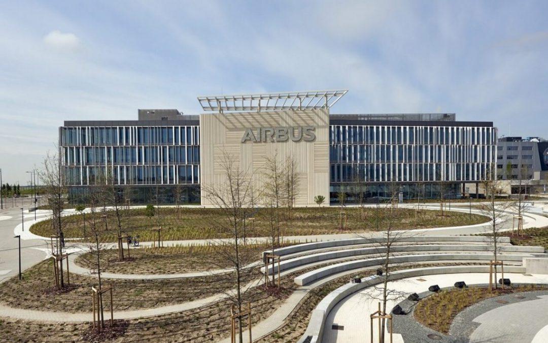 Campus de Oficinas Airbus en Getafe