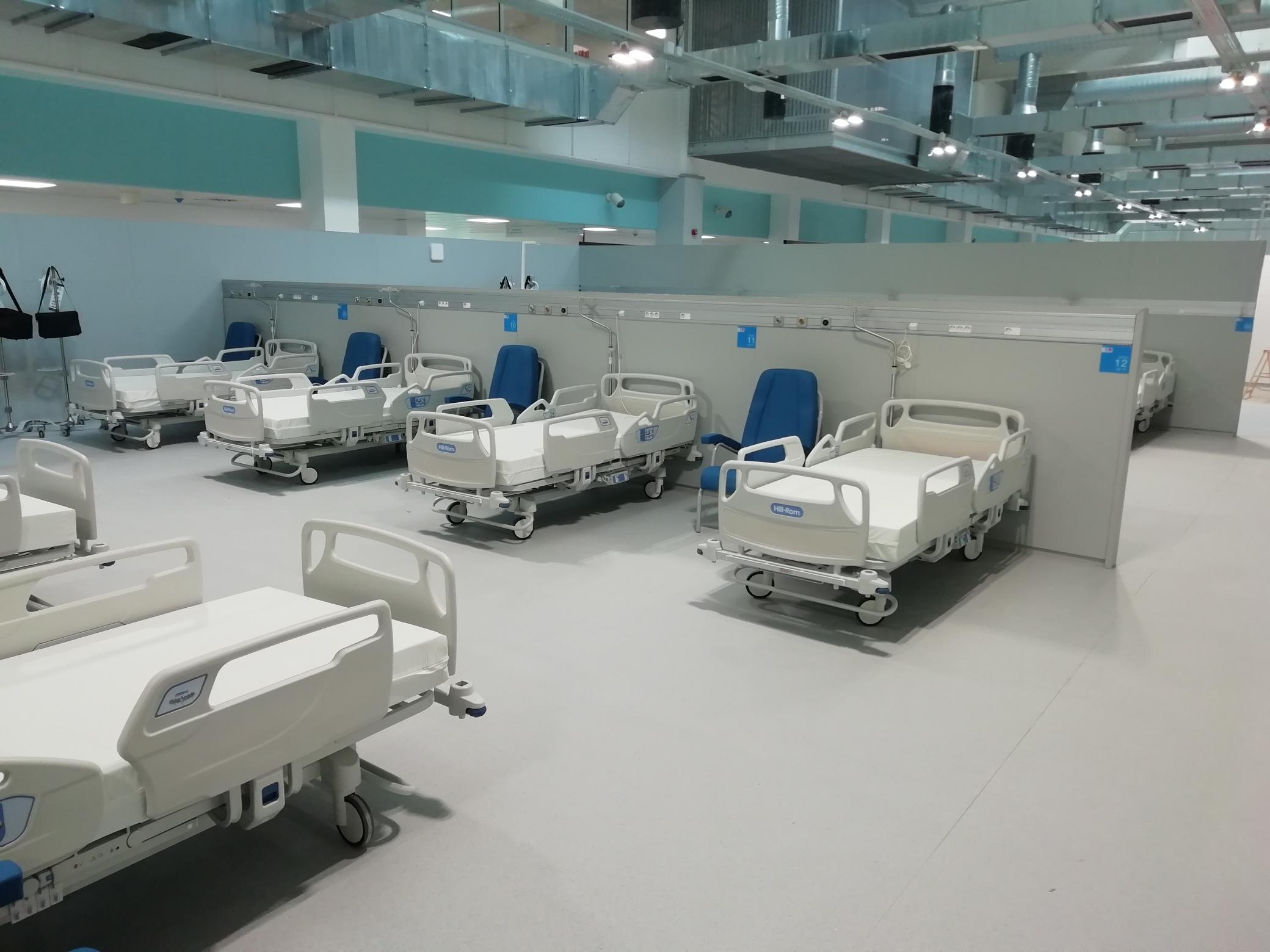 mamparas para hospitales
